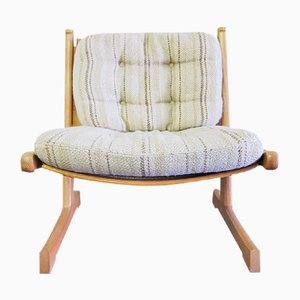 Mid-Century Danish Ash Lounge Chairs by Adrian & Ditte Heath for France & Søn / France & Daverkosen, Set of 2