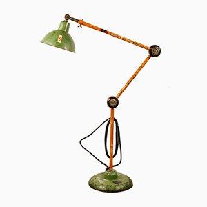 Industrielle Mid-Century Stehlampe von Permo