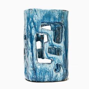 Vase Photophore en Céramique par Alice Colonieu, 1960s