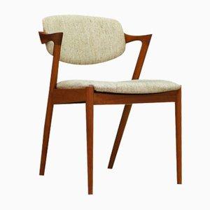 Teak Dining Chairs by Kai Kristiansen, 1960s, Set of 4