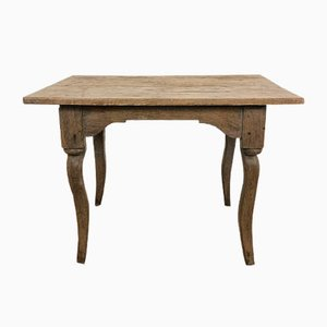 Small Antique Elm Wooden Table