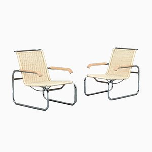 S35 R Cantilever Lounge chair by Marcel Breuer for Thonet