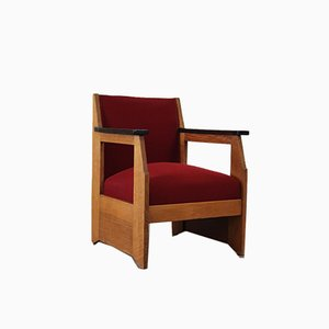 Rationalist Chair by Hendrik Wouda for Pander, 1920s
