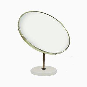 Vintage Round Vanity Mirror from Schreiber, 1970s