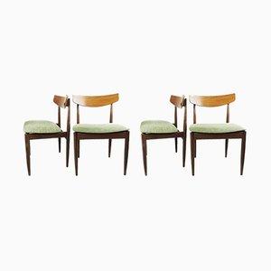 Vintage Teak Dining Chairs by Kofod Larsen for G-Plan, 1960s, Set of 4