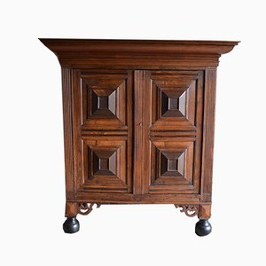 Antique Gelderland Oak Cupboard