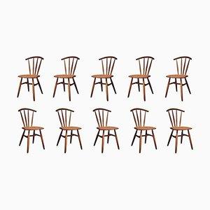 Deutscher Handgefertigter Windsor Stuhl aus Eiche von Fabian Fischer, 2019