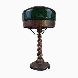 Schwedische Jugendstil Strindberg Lampe aus Kupfer