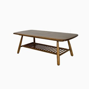 Beech Coffee Table by Lucian Ercolani for Ercol, 1970s