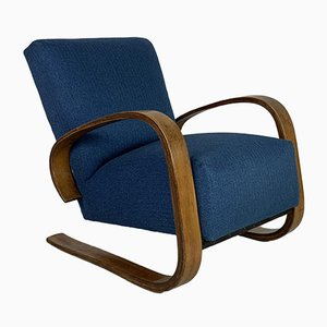 Walnut Armchair by Miroslav Navratil, 1950s