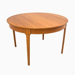 Danish Round Dining Table, 1960s