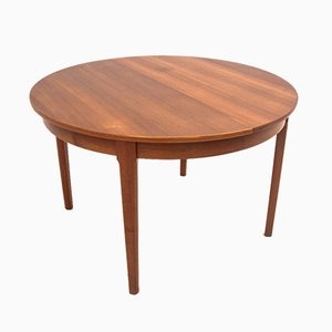 Table Ronde Pliante, Danemark, 1960s