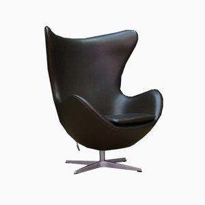 Silla giratoria danesa de Arne Jacobsen para Fritz Hansen, años 80
