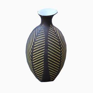 Italian Porcelain Vase by Zaccagnini, 1950s