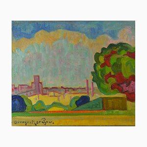Fauvist Nabi Oil Painting by Georges Marchou