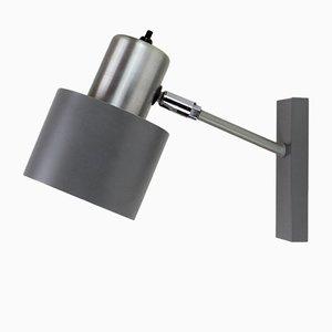 Dänische Graue Alfa Wandlampe von Johannes Hammerborg für Fog & Mørup, 1960er