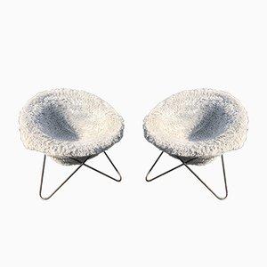 Französischer Circle Chair von Jean Royere, 1950er