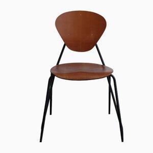 Chaises de Salon en Teck de ISA, Italie, 1960s, Set de 4