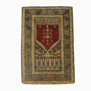 Turkish Hand-Knotted Kayseri Wool Carpet, 1950s