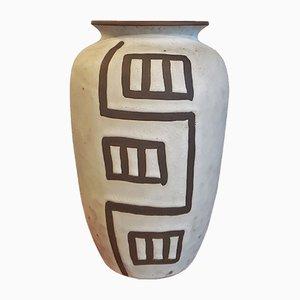 Geometrische Vase von Sawa Keramik, 1960er