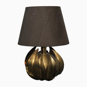 Brass Table Lamp by Maison Jansen, 1970s