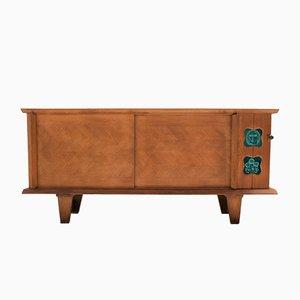 Oak Sideboard by Guillerme et Chambron for Votre Maison, 1970s
