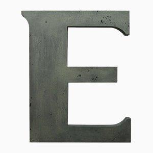 Vintage Letter E Sign, 1960s