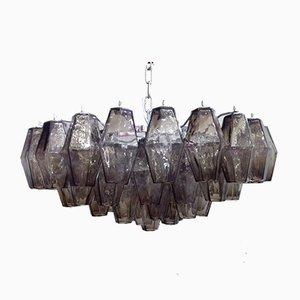 Lustre Kromo en Verre Murano Poliedro de Italian Light Design