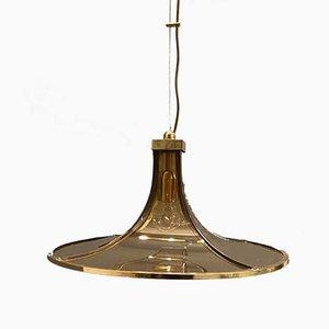 Mid-Century Pagoda Pendant Lamp from Esperia, 1960s