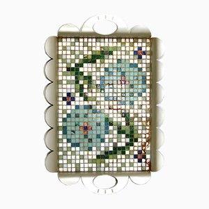Tappeto Prototyp mosaico Tablett Recinto New Age di Alessandro Mendini per Alessi, inizio XXI secolo