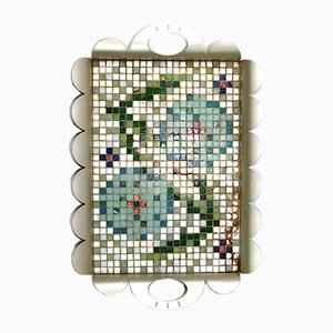 Tile Mosaic Prototyp Tablett Recinto New Age by Alessandro Mendini for Alessi, 2000s