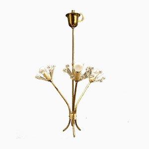 Lampe à Suspension par Emile Stejnar pour Rupert Nikoll, 1950s