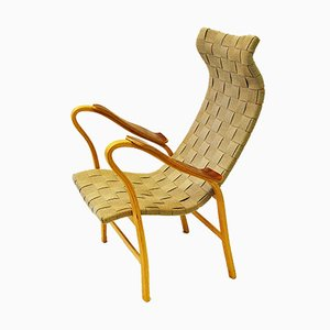 Swedish Model Torparen Lounge Chair by G. A. Berg for Bröderna Andersson, 1940s