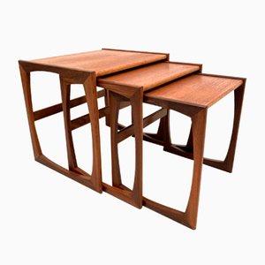 Tables Gigognes Quadrille par R Bennett pour G-Plan, 1960s
