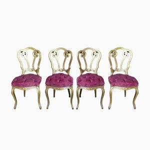 Napoleon III Chairs, Set of 4
