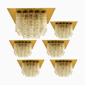 Einbau-Kronleuchter von Boris Tabacoff, 1960er