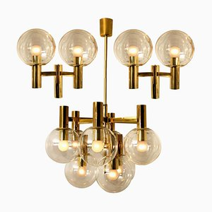 Light Fixtures in the Style of Hans Agne Jakobsson, Sweden, 1970s, Set of 3