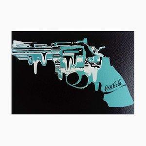 Blue Gun by Death NYC, 2012