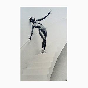 In My Studio Paris by Helmut Newton, 1978