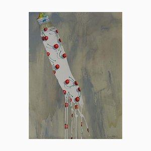White Brush Stroke by Jacques Halbert, 2003