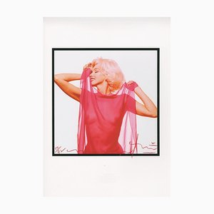 Marilyn in the Red Scarf by Bert Stern, 2010