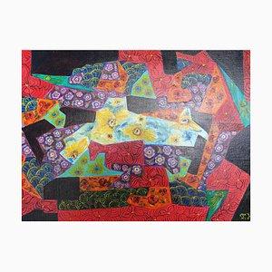 Flowers Jigsaw Puzzle by Jocelyne Hoffelt, 2020