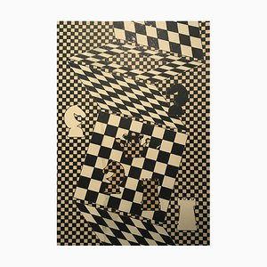 The Chessboard by Victor Vasarely, 1935