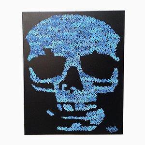 Petit Skull Blaze Thirty par Roulland T, 2018