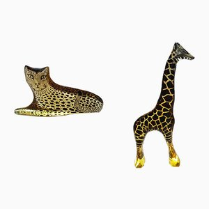 The Giraffe and Cheetah Skulptur von Abraham Palatnik, 1960er, 2er Set