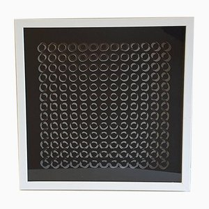 Kinetic C by Victor Vasarely, 1973