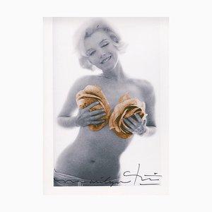 Marilyn Gold Wink Roses von Bert Stern, 2012