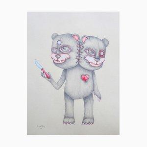Bear with Pearls by Jessica Pliez, 2018