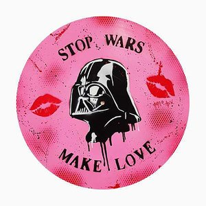 Stop Wars Make Love by Arno ADN, 2018