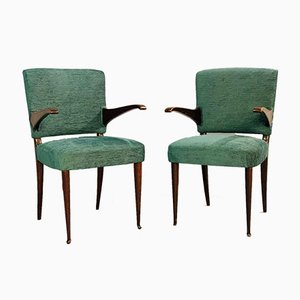 Armchairs by Vittorio Dassi, 1950s, Set of 2
